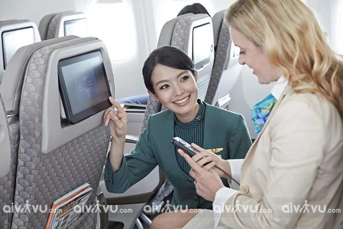 Đặt mua vé máy bay Eva Air giá rẻ