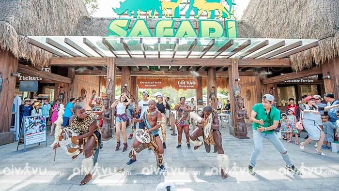 Vườn thú Safari điểm vui chơi giải trí thú vị nhất tại Phú Quốc