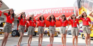 Đặt mua vé máy bay Vietjet Air giá rẻ