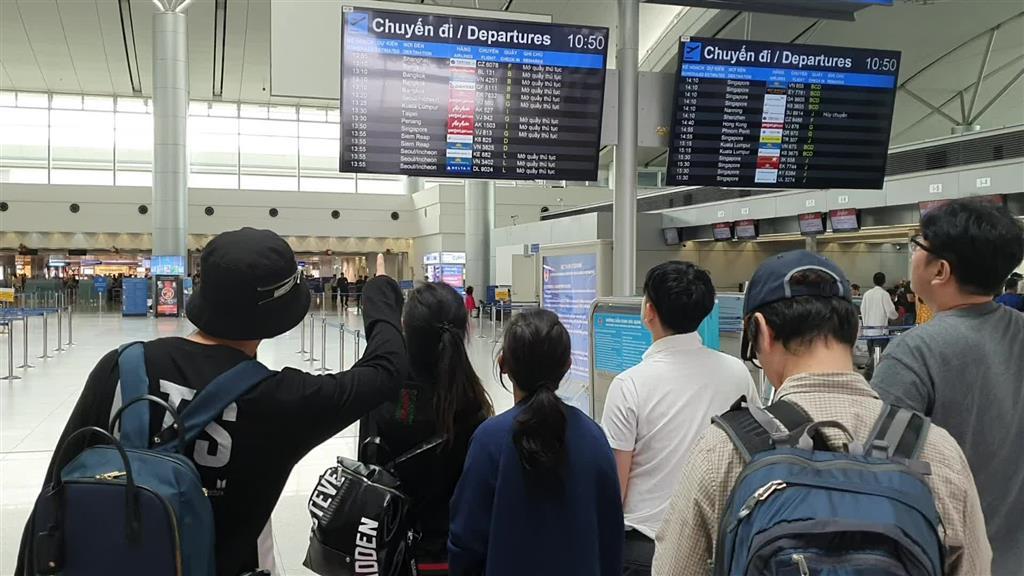 Hiển thị thông tin hành lý giúp hành khách chủ động sắp xếp lịch trình
