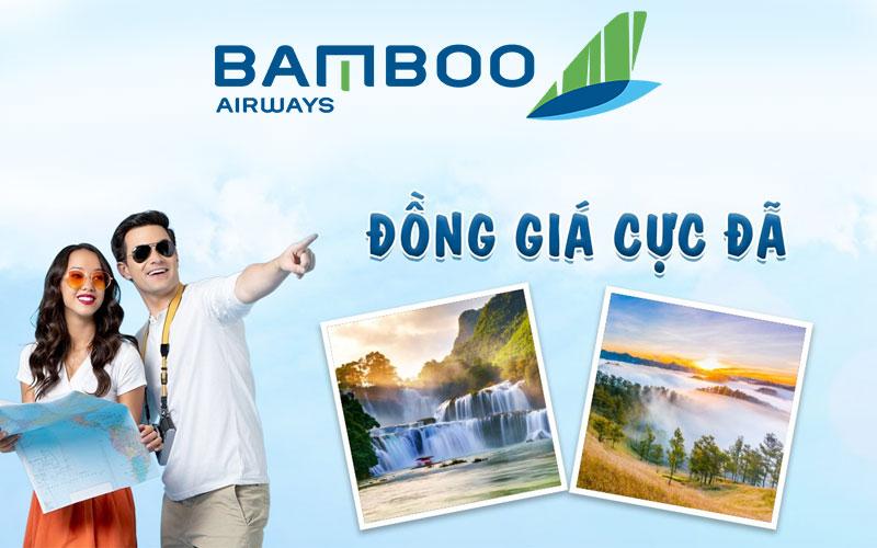 Bamboo Airways khuyến mãi combo 4 vé 1 chiều chỉ từ 800.000 VND