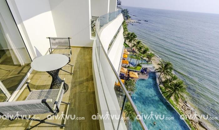 Bạn có thể lựa chọn phòng có góc nhìn hướng ra biển