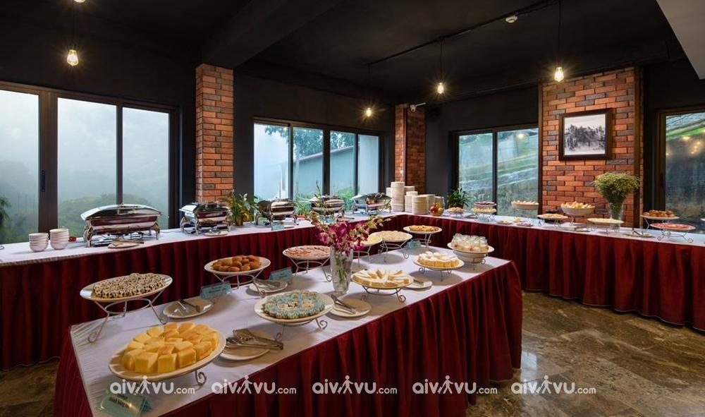 Miễn phí sử dụng bữa sáng tự chọn tại The View Hotel Sapa