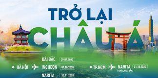 Bamboo Airways chính thức khai thác trở lại các chuyến bay quốc tế