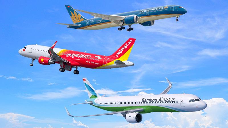 Lịch bay quốc tế của các hãng hàng không Việt Nam