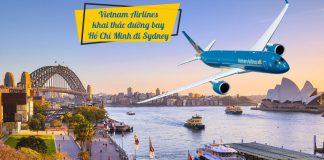 Vietnam Airlines thông báo mở bán vé máy bay đi Sydney