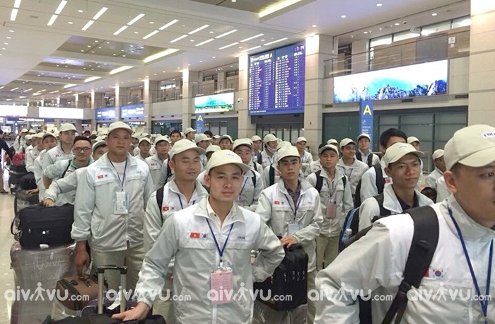 Vé máy bay đi xuất khẩu lao động Hàn Quốc giá rẻ