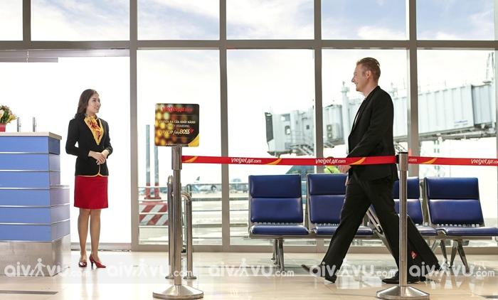 Hạng SkyBoss với lối đi riêng ưu tiên qua cửa an ninh