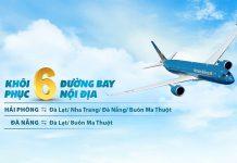 Vietnam Airlines khôi phục 6 đường bay nội địa trong tháng 10