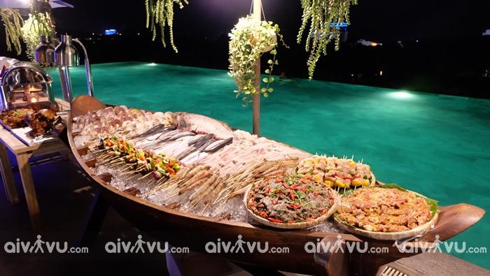 Ẩm thực tại Lahana Resort Phú Quốc