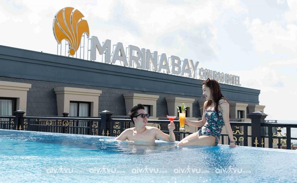 Tận hưởng hồ bơi vô cực ngắm hoàng hôn cực đẹp tại Côn Đảo