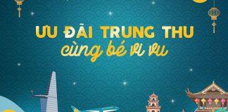 Khuyến mãi Vietnam Airlines đón Tết Trung Thu cùng bé vi vu
