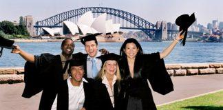 Vé máy bay đi du học Úc Australia giá rẻ