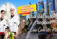 Vé máy bay xuất khẩu lao động Singapore giá rẻ