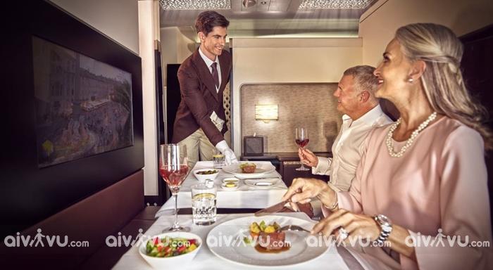 Các hạng ghế của Etihad Airways