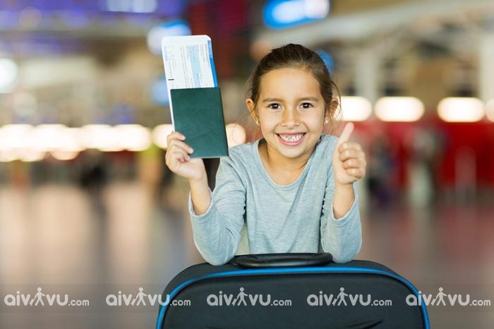Dịch vụ trẻ em đi một mình Malaysia Airlines