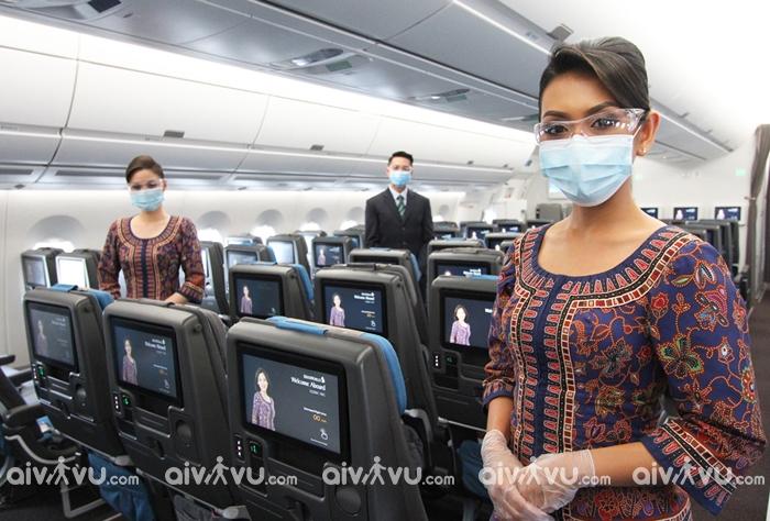Hướng dẫn làm thủ tục lên máy bay Singapore Airlines nhanh chóng