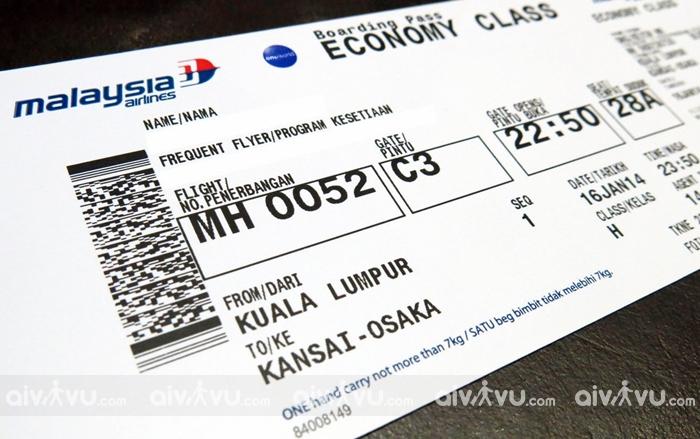 Thủ tục hoàn vé máy bay Malaysia Airlines