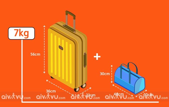 Quy định kích thước hành lý khi đi máy bay Singapore Airlines
