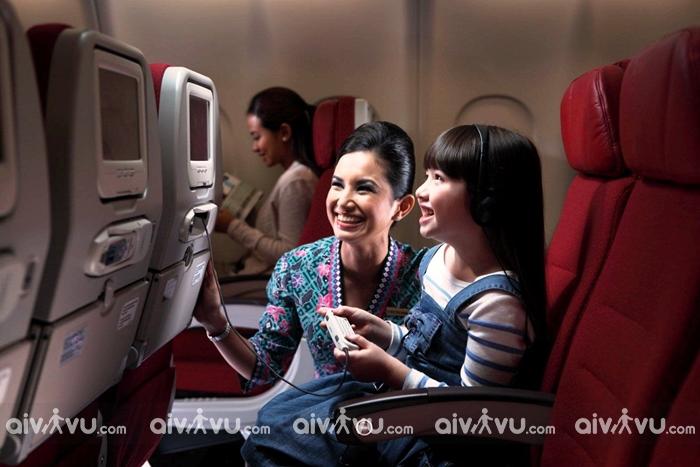 Quy định trẻ em đi máy bay Malaysia Airlines