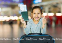 Quy định trẻ em đi máy bay Malaysia Airlines cần giấy tờ gì?