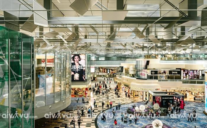 Sân bay quốc tế Changi Singapore sân bay tốt nhất thế giới
