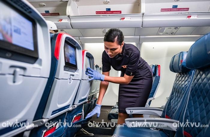 Thông tin hạng ghế của hãng hàng không Delta Airlines