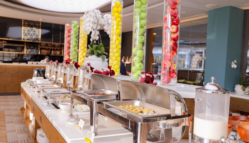 Miễn phí buffee bữa sáng tại khách sạn Golf Valley Đà Lạt