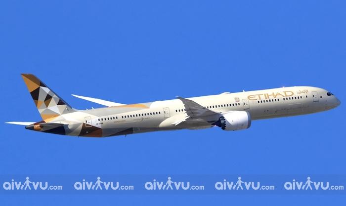 Đội bay, mạng lưới đường bay Etihad Airways