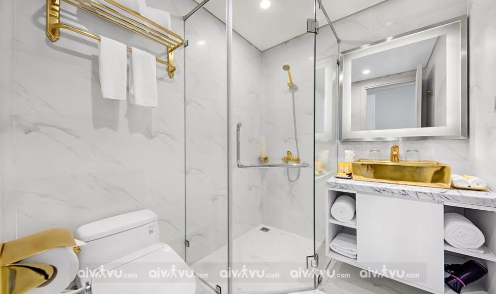 Đà Nẵng Golden Bay được trang bị đầy đủ với tính năng của vàng