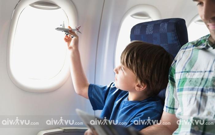 Dịch vụ Etihad Airways cung cấp cho trẻ em trên chuyến bay