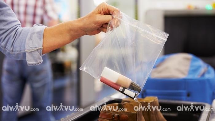 Chất lỏng, keo xịt và gel mang theo trong hành lý xách tay