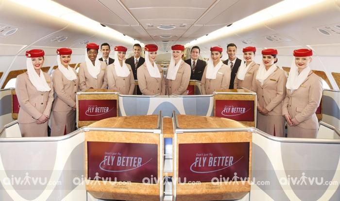 Phòng vé máy bay Emirates chính thức Việt Nam