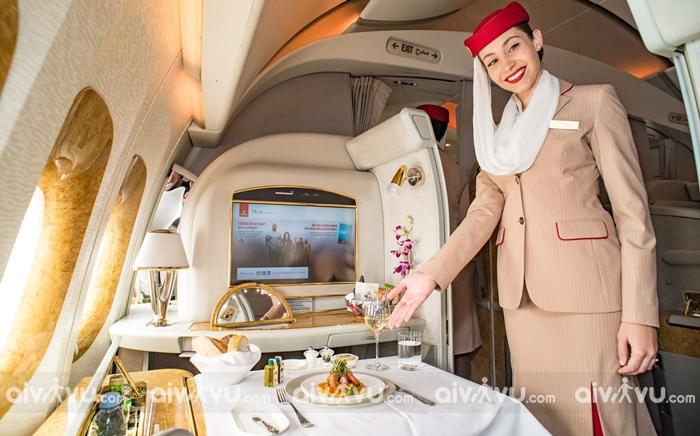 Hạng ghế của hãng hàng không Emirates