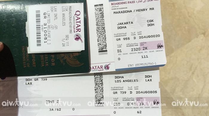 Phí hoàn đổi vé máy bay Qatar Airways