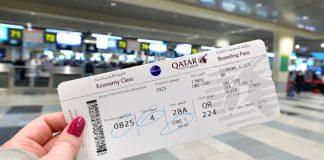 Quy định đổi tên vé máy bay Qatar Airways