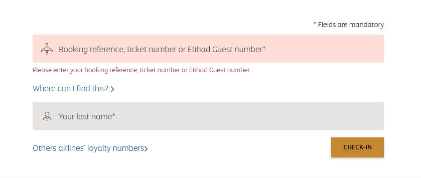 Kiểm tra chuyến bay Emirates