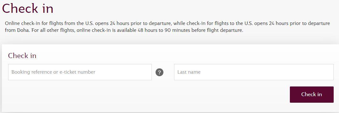 Hướng dẫn check in online Qatar Airways mới chi tiết nhất