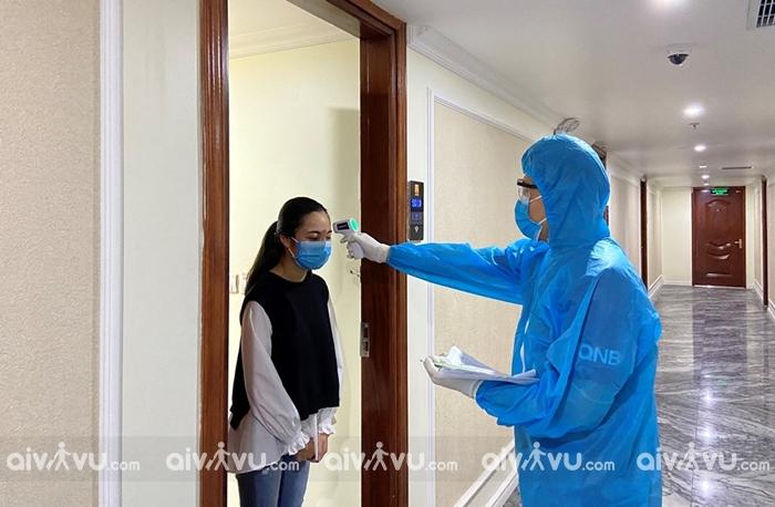 Đưa đón người nước ngoài cách ly tại khách sạn, Resort