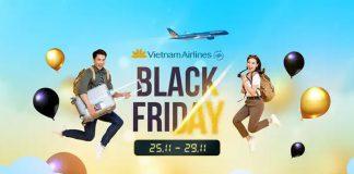 Vietnam Airlines khuyến mãi Black Friday giảm 15% giá vé