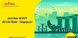 Thông báo lịch bay Hồ Chí Minh – Singapore Soot