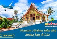 Vietnam Airlines khai thác các chuyến bay từ Việt Nam đi Lào