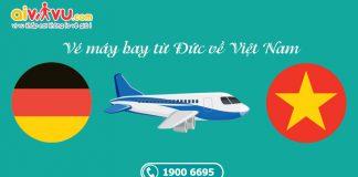 Vé máy bay từ Đức về Việt Nam giá rẻ