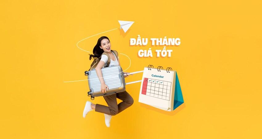 Đầu tháng giá tốt chỉ từ 69.000 VND khuyến mãi từ Vietnam Airlines