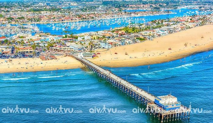 Balboa Island một viên ngọc của California