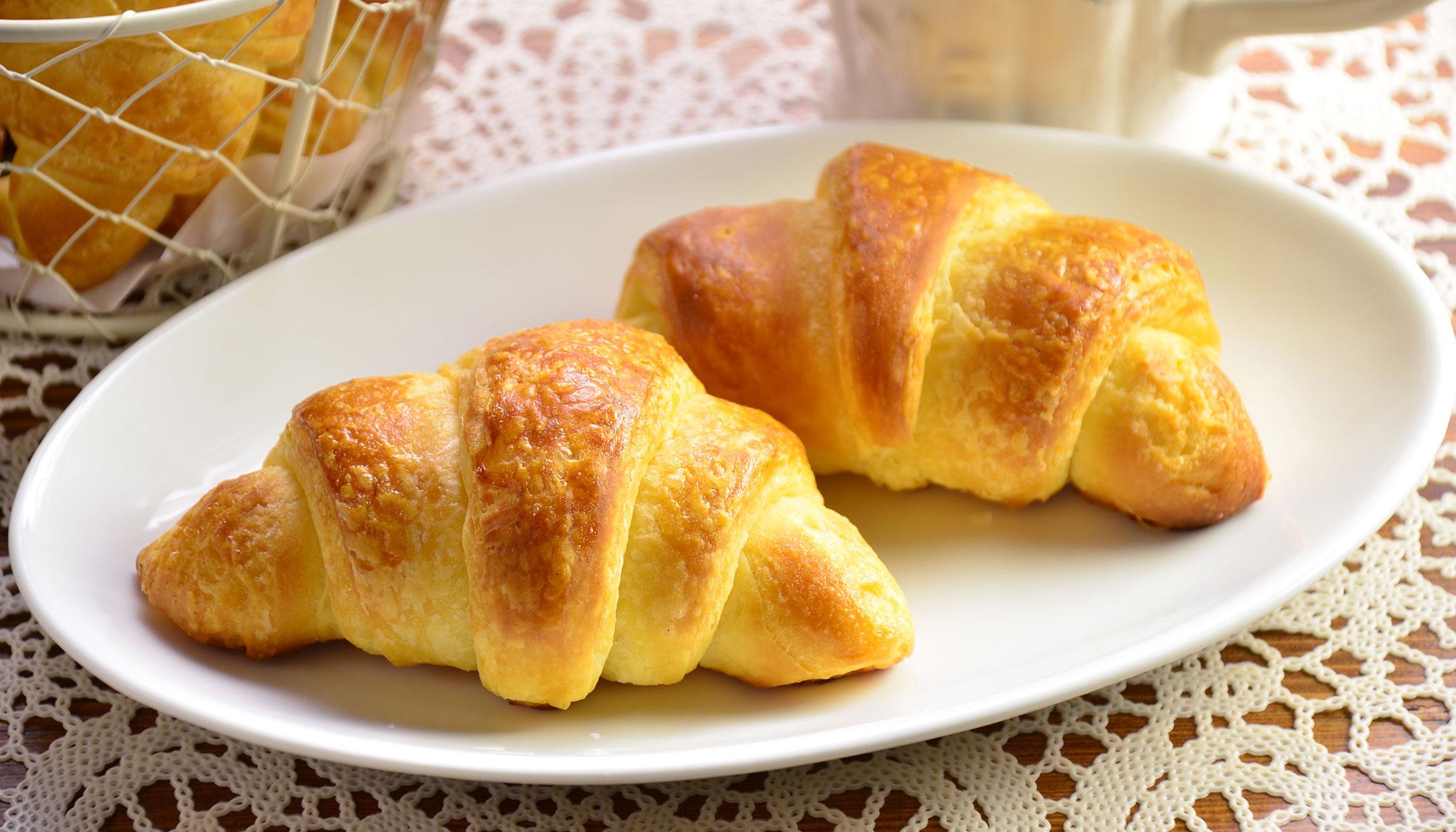 Bánh Croissants bánh mỳ nổi tiếng ở Pháp