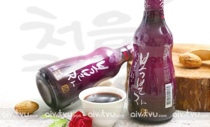 Bokbunjaju đồ uống nhất định phải thử khi đến Hàn Quốc