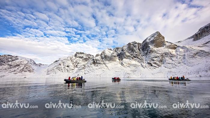 Khám phá những hồ nước lớn trên đảo Baffin