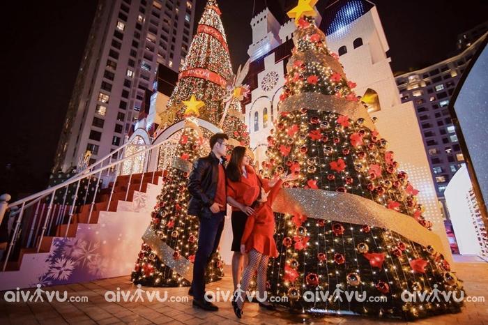 Khu đô thị Royal City điểm check in Giáng Sinh tại Hà Nội