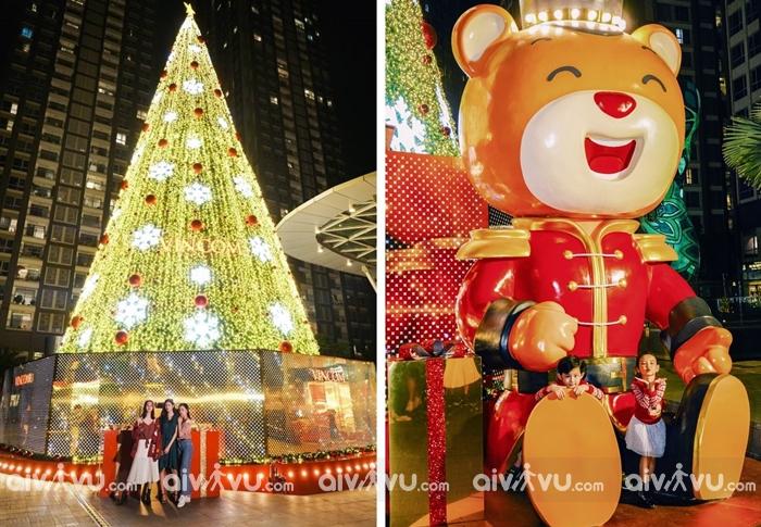 Landmark 81 điểm check in Giáng Sinh lung linh tại Sài Gòn
